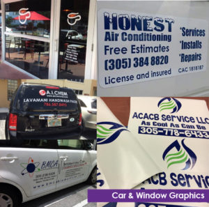 Car and Window Graphics