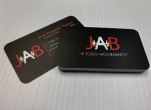 JAB Business cards Logo Update