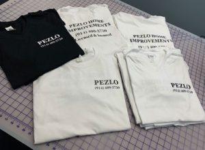 Pezlo T-shirts Printed