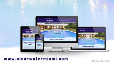 ClearwaterPoolsWebsiteDesign