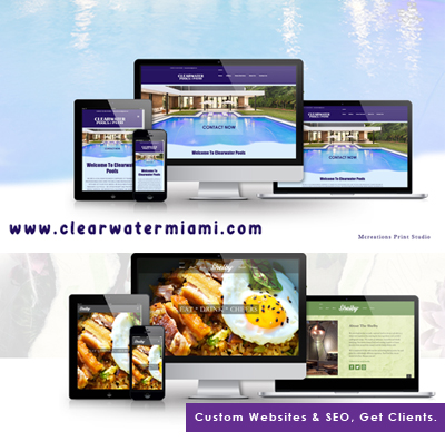 Websites by Mcreations print studio